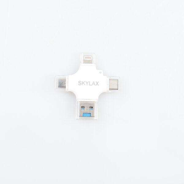 Otg 3 in 1 iphone, typc, micro kart okuyucu