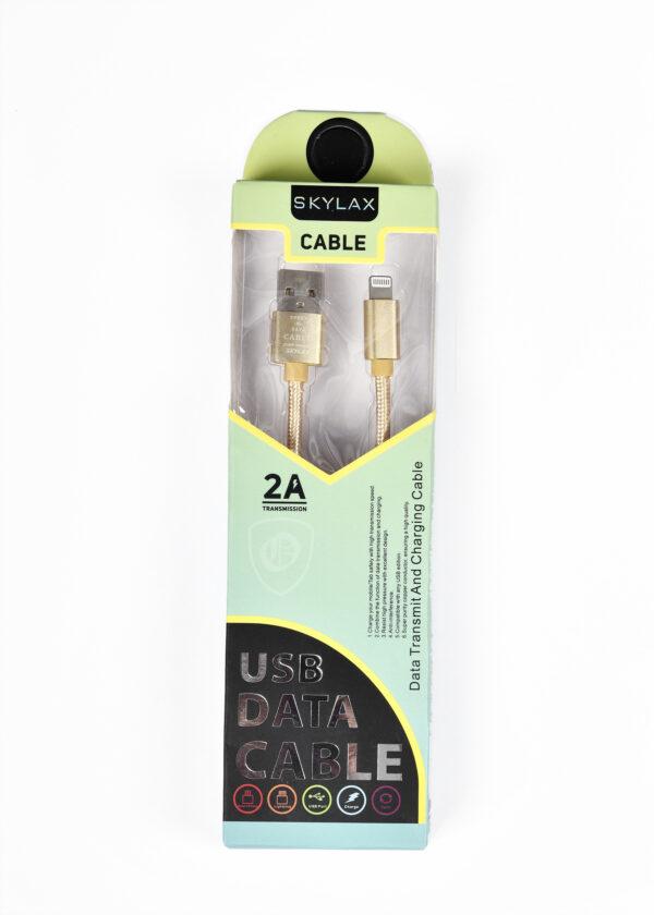 Skylax Hasırlı Kablo İpone (kopmaya karşı dayanıklı)