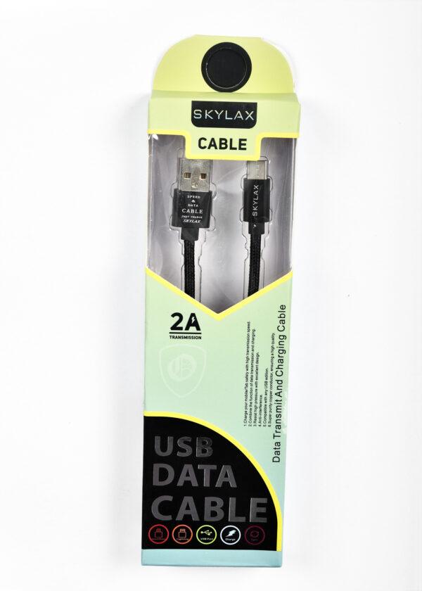 Skylax Hasırlı Kablo Type-c (kopmaya karşı dayanıklı)