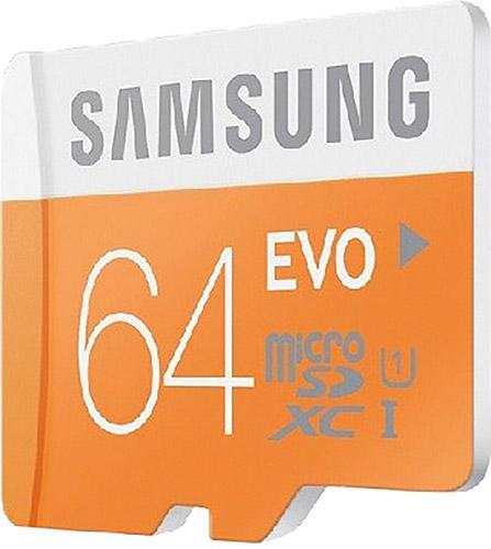 Samsung Evo 64 Gb Hafıza Kartı